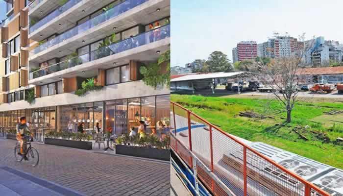 Avanza la urbanización en terreno de ex playón ferroviario