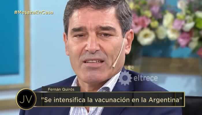 El ministro de Salud de La Ciudad se refirió a la decisión de diferir la segunda dosis de las vacunas